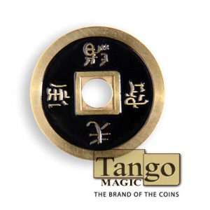 *Chinese coin normal Brass Black (CH008)Tango