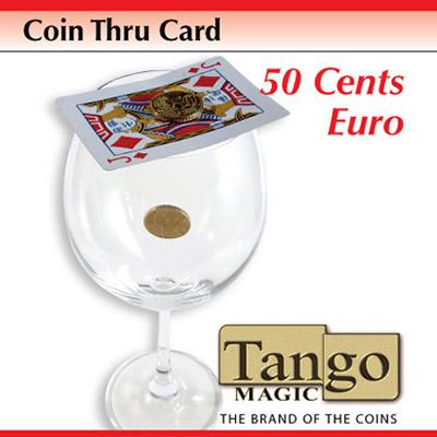 *Coin Thru Card 50 cent Euro (E0014) Tango