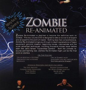 Zombie Re-Animated Vol. 2 by Jeb Sherrill - DVD