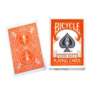 Cards Bicycle Orange Back USPCC - Trick