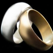 Wizard PK Ring G2 (CURVED, Silver, 21mm, Medium) by World Magic Shop - Trick