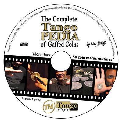 *Two Coins Thru Card (E0016) (50 cent Euro) by Tango - Trick