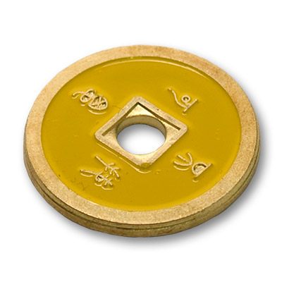 *Normal Chinese Coin made in Brass (Yellow) by Tango-Trick (CH010)