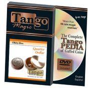 *Okito Box (Brass) – US Quarter by Tango Magic -Trick (B0010)