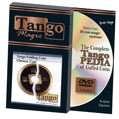 *Folding Chinese Coin Internal System by Tango - Trick (CH003)