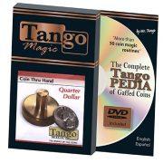 Coin thru Hand (US Quarter) (D0069) by Tango – Trick