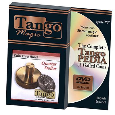 Coin thru Hand (US Quarter) (D0069) by Tango - Trick
