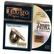 *Flipper Chinese Coin Black (CH012) by Tango – Trick