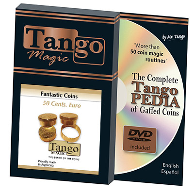 *Fantastic Coins 50 cent Euro by Tango - Trick (B0014)