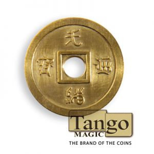 *Normal Chinese coin Brass by Tango - Trick (CH013)