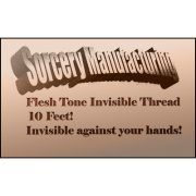 Flesh Tone Invisible Thread by Sorcery Manufacturing - Trick