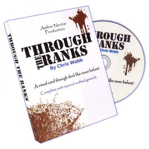 Through The Ranks (Blue Back With DVD) by Chris Webb - DVD
