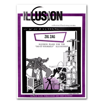 Zig Zag Illusion Plans by Illusion Systems - Tricks