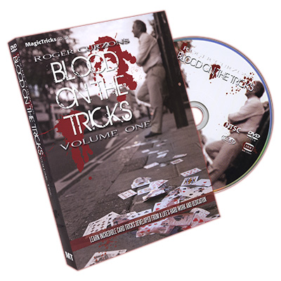 Blood On The Tricks by Roger Curzon - DVD