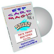 ESP Card Magic (Nick Trost Routines) Vol. 1 by Aldo Colombini - DVD