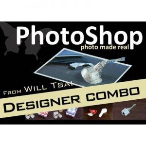 PhotoShop Designer Combo Pack (with Gimmicks) by Will Tsai and SM Productionz - Trick