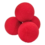 Ultra Soft (1.5 Inch, Red, 4 Balls) by Goshman