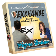 Waynes Exchange (DVD and Gimmick) by Wayne Dobson and Alakazam Magic - DVD