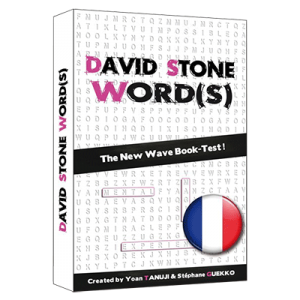 David Stone's Words(French Version) by So Magic Evenements - Trick