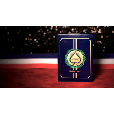 London 2012 Playing Cards (Gold) by Blue Crown - Trick