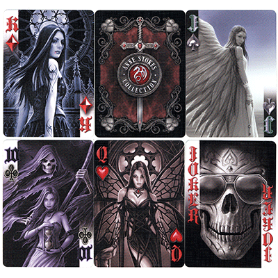 Anne Stokes Dark Hearts Cards by USPCC - Trick
