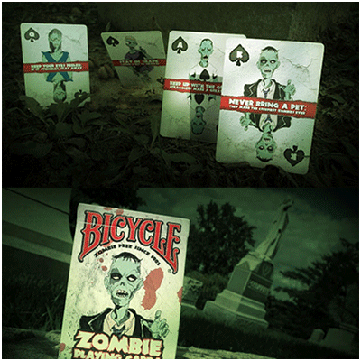 Bicycle Zombie Cards by USPCC - Trick