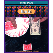 Risky Bet (Blue) (US Currency, Gimmick and VCD) by Henry Evans
