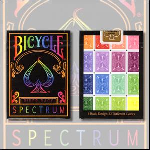 1st Run Spectrum Decks by US Playing Card - Trick