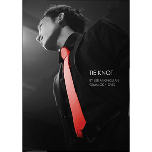 Tie Knot (red) by Lee Ang-Hsuan (gimmicks & DVD) - Trick