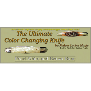 The Ultimate Color Changing Knife by Rodger Lovins - Trick