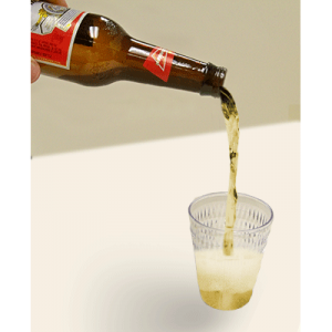 Air Budweiser (Bottle and glass) by Wood Crafters - Trick