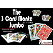 3 Card Monte (Find the Lady) 9x13 (All Cards Gaffed) by Sumit Chhajer - Trick-37426