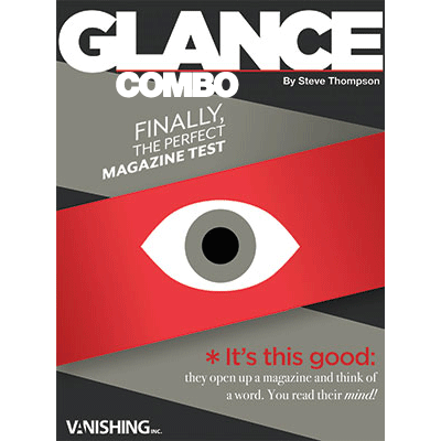 Glance Combo (Two different magazines) by Steve Thompson - Trick-37541