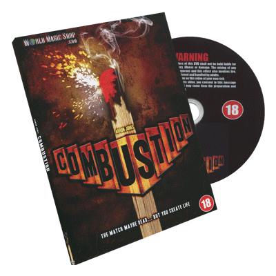 Combustion by Arron Jones and Wizard FX Productions - DVD-37787