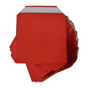 Nest of Wallets refill Envelopes 50 units Red no Window-38169