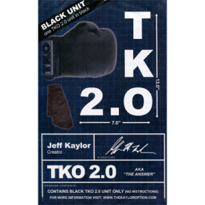 TKO 2.0 Gimmick only Black by Jeff Kaylor-38168