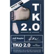 TKO 2.0 Gimmick only White by Jeff Kaylor-38167