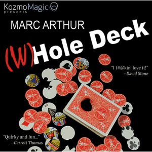 The Whole Deck by Marc Arthur - Red-38113