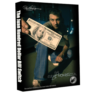 Juan Hundred Dollar Bill Switch (with Hundy 500 Bonus) by Doug McKenzie video DOWNLOAD -38365