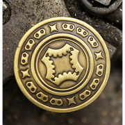Full Dollar Coin Bronze by Mechanic Industries-39038