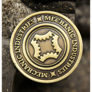 Full Dollar Coin Bronze by Mechanic Industries-39008