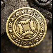 Half Dollar Coin Bronze by Mechanic Industries-39035