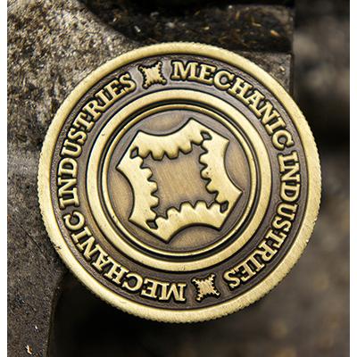 Half Dollar Coin Bronze by Mechanic Industries-39006