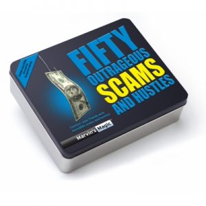 Fifty Outrageous Scams And Hustles (Tin)-39582