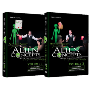Alien Concepts by Anthony Asimov (2 DVD Set)-39617