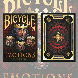 1st Run Bicycle Emotions Deck by US Playing Card Co.-39770