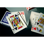Lefty Deck Blue by House of Playing Cards-39439