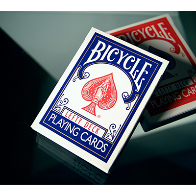 Lefty Deck Blue by House of Playing Cards-39435