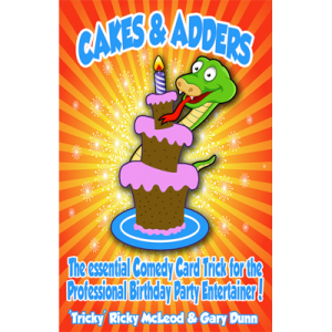 Cakes and Adders (Poker size) by Gary Dunn-40798
