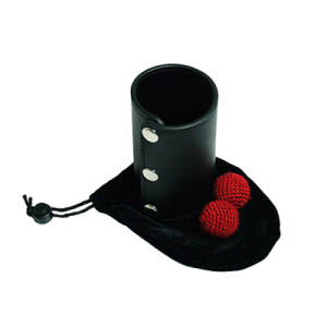 Leather Chop Cup (with Balls)-41062